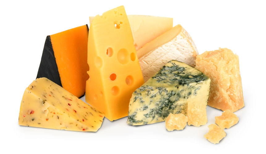 photo of various cheeses