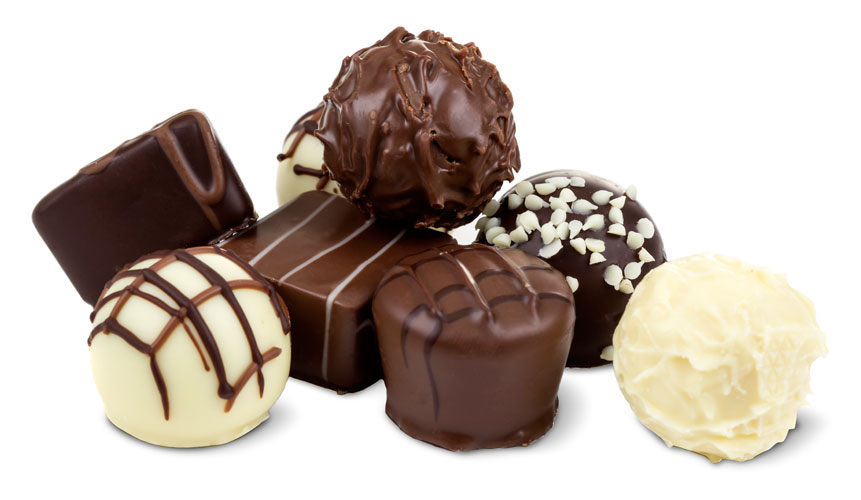 photo of various chocolates