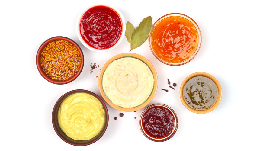 photo of various sauces