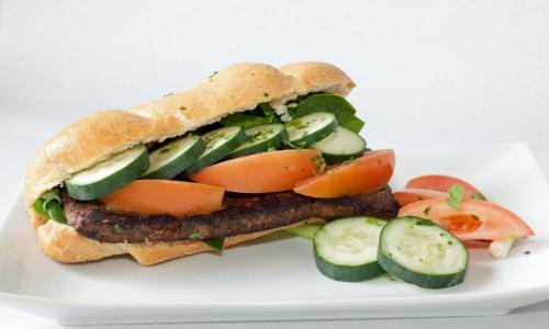 Beef Bastrami Sandwich